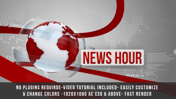 VIDEOHIVE GLOBAL NEWS INTRO TITLE FREE DOWNLOAD - Free After Effects