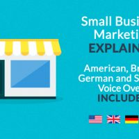 Small Business Marketing Explainer Free VIP Template