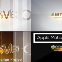 Simple Glossy Slider Logo – Apple Motion