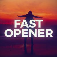 Fast Stomp Opener Free After Effects Template