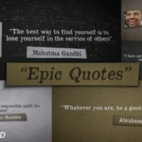 VIDEOHIVE EPIC QUOTES FREE AFTER EFFECTS TEMPLATE