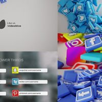 Social Media Pack 3D 19945507 – Free After Effects Templates