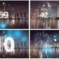 VIDEOHIVE SILVER NEW YEAR COUNTDOWN 2018