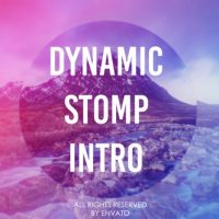 Dynamic Stomp Intro – Free After Effects Template