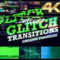 VIDEOHIVE GLITCH TRANSITION 4K – MOTION GRAPHIC
