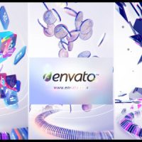 VIDEOHIVE PARTICLE ATTACK LOGO REVEAL
