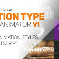 VIDEOHIVE MOTION TYPE – TEXT ANIMATOR