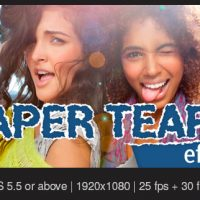 VIDEOHIVE PAPER TEARS FREE AFTER EFFECTS TEMPLATE