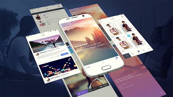 android app presentation template free vip template free after