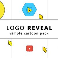 VIDEOHIVE SIMPLE CARTOON LOGO REVEAL FREE DOWNLOAD