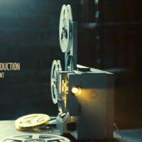 VIDEOHIVE VINTAGE MEMORIES FILM PROJECTOR