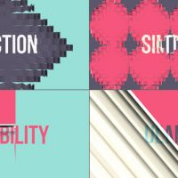 VIDEOHIVE SIX 3D TRANSITIONS VOL.2