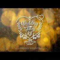 Wedding Titles Kit – 100 Titles – Free Download