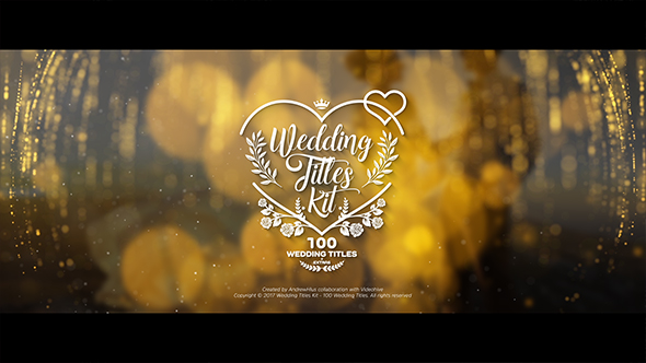 wedding titles kit 100 titles free download free after effects