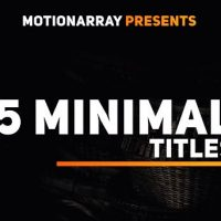 Motionarray 15 Minimal Titles 50755