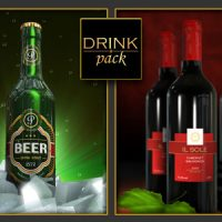 VIDEOHIVE DRINK PACK 2-IN-1 FREE DOWNLOAD