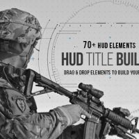 HUD Title Builder – Free After Effects Template
