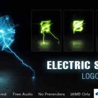 Electric Shock Logo Reveal – Free After Effects Template