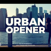 VIDEOHIVE URBAN OPENER 20949693 FREE DOWNLOAD