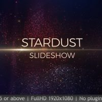 VIDEOHIVE SLIDESHOW STARDUST FREE DOWNLOAD