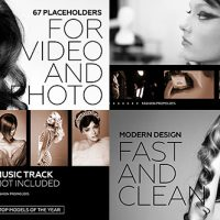 VIDEOHIVE BLACK FASHION PROMO FREE AFTER EFFECTS TEMPLATE