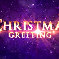 VIDEOHIVE CHRISTMAS GREETING TITLES