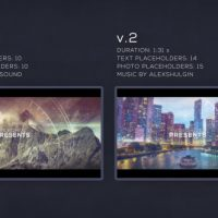 VIDEOHIVE PARALLAX GLITCH SLIDESHOW FREE DOWNLOAD