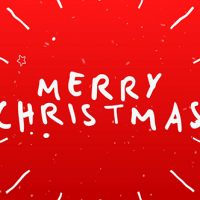 VIDEOHIVE CHRISTMAS TYPOGRAPHY CARD FREE DOWNLOAD