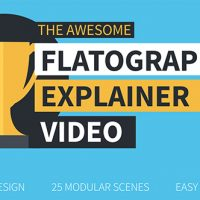 VIDEOHIVE FLATOGRAPHICS EXPLAINER VIDEO FREE DOWNLOAD