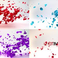 VIDEOHIVE PETALS LOGO REVEAL FREE DOWNLOAD