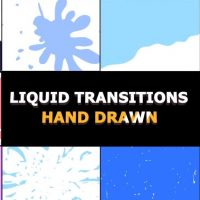 Motionarray Hand Drawn Liquid Transitions 53824