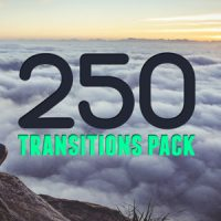 VIDEOHIVE 250 TRANSITIONS PACK FREE DOWNLOAD TEMPLATE