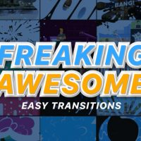 VIDEOHIVE FREAKING AWESOME TRANSITIONS