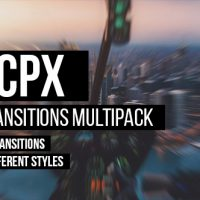 VIDEOHIVE FCPX TRANSITIONS MULTIPACK – APPLE MOTION TEMPLATES