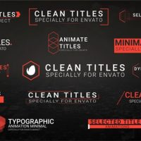 VIDEOHIVE CLEAN TITLES 20483337