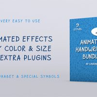 Animated Handwriting Bundle – Free After Effects Template
