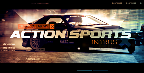 VIDEOHIVE ACTION SPORTS INTRO - FREE DOWNLOAD - Free After Effects