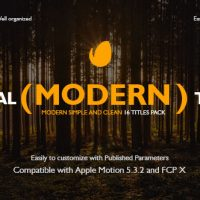 Videohive Special Modern Titles Pack for FCPX 20708205 – Free After Effects Template