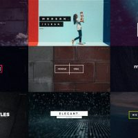 VIDEOHIVE QUICK TITLES FREE AFTER EFFECTS TEMPLATE