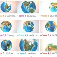 VIDEOHIVE EARTH BLUE PLANET PACK