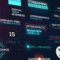 VIDEOHIVE CINEMATIC HUD TITLES – FREE AFTER EFFECTS TEMPLATE