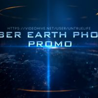 VIDEOHIVE CYBER EARTH PHOTO PROMO FREE DOWNLOAD
