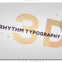 VIDEOHIVE 3D RHYTHM TYPOGRAPHY INTRO FREE DOWNLOAD