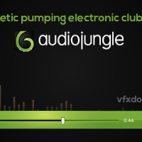 Energetic pumping electronic club track – Audiojungle