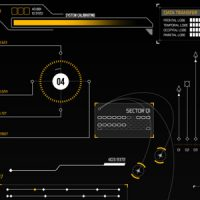 VIDEOHIVE HUD INFOGRAPHIC ELEMENTS