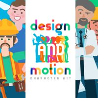 VIDEOHIVE DESIGN AND MOTION CHARACTER KIT