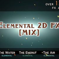 VIDEOHIVE ELEMENTAL 2D FX [MIX] FREE DOWNLOAD