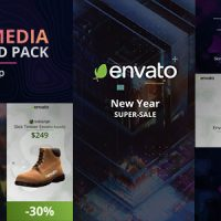 VIDEOHIVE SOCIAL MEDIA PRODUCT AD PACK