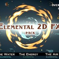 VIDEOHIVE ELEMENTAL 2D FX PACK [200 ELEMENTS] – MOTION GRAPHICS