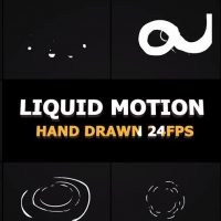 Motion Array – Liquid Motion Elements And Transitions After Effects Templates 58439